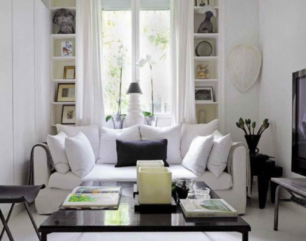 Interior_design_inspiration_livingroom_house__apartment_modern_retro_style.  Black And White Living Room Interior Inspirations